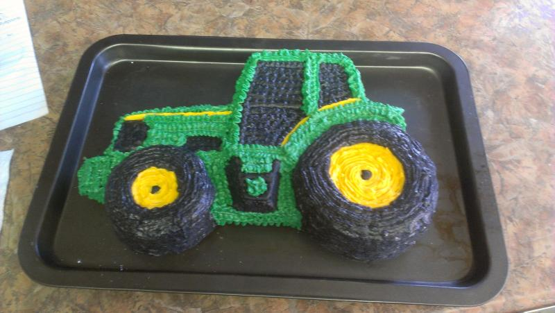 John Deere Tractor All buttercream cakes Pinterest Cake and