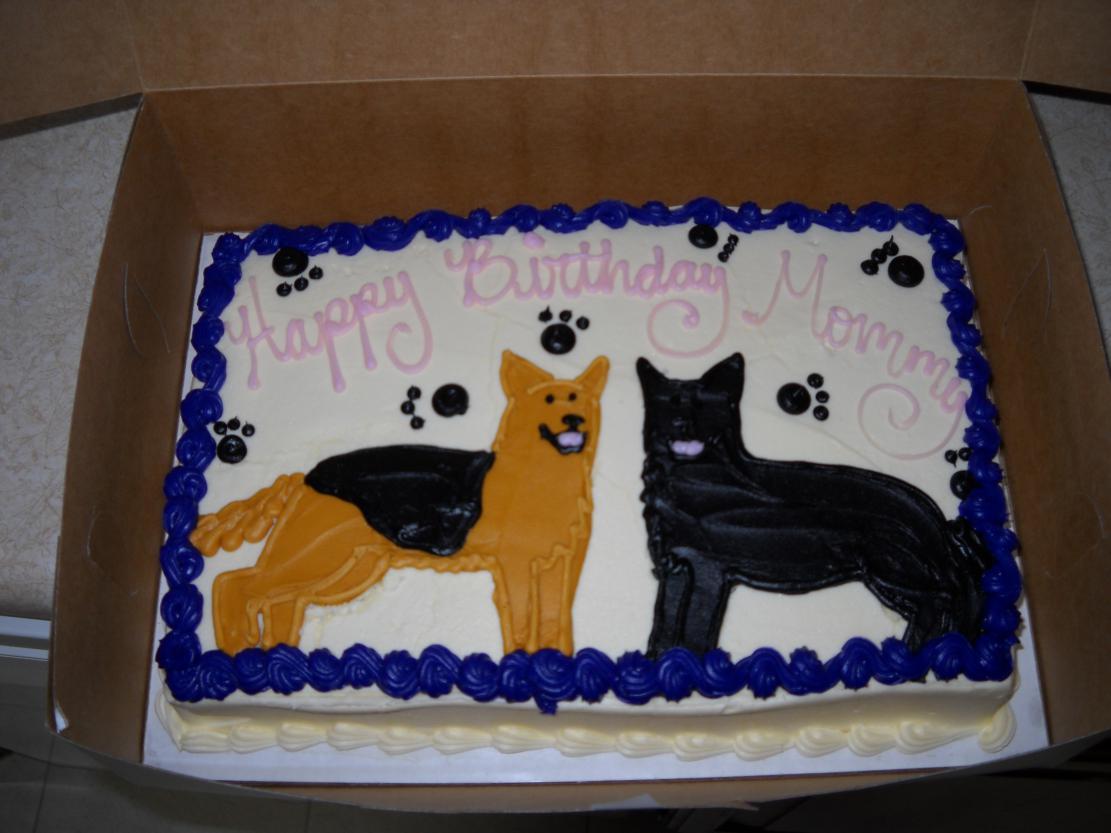 Birthday Cakes With Dog Designs ~ Dog birthday cake recipe healthy cakes images fashion u cake ideas