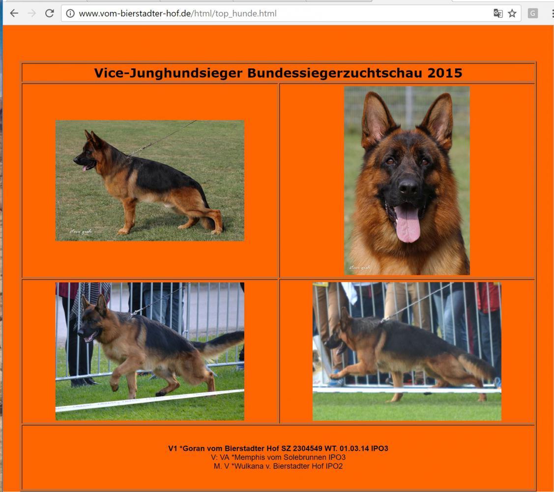 hunde register