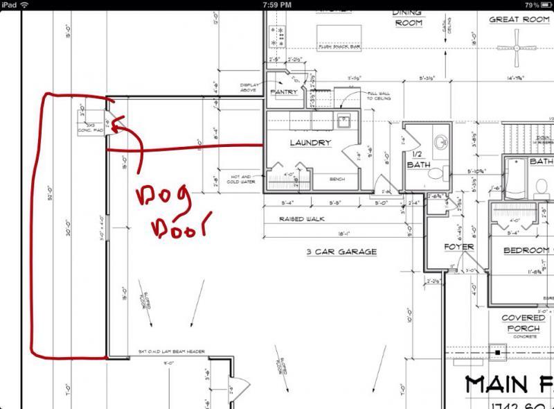 Indoor outdoor kennel german shepherd dog forums for Indoor outdoor dog kennel design